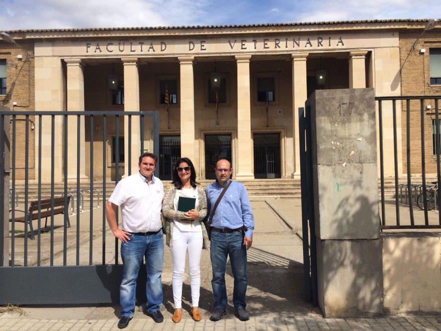 Casa Gutier en la Facultad de Veterinaria de la Universidad de Zaragoza