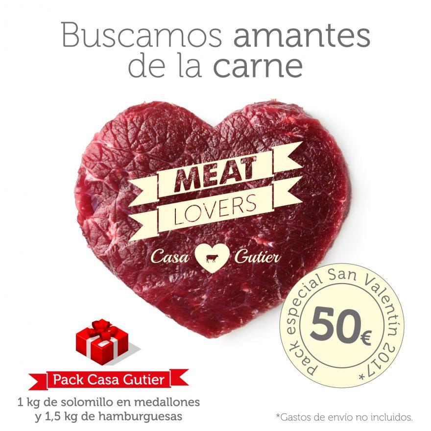 MEAT LOVERS - Carne de Ternera Rica en Omega 3 Casa Gutier