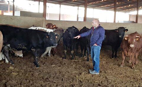 """""""Si la gente conociese las propiedades de nuestra carne, estamos seguros de que mucha más gente la consumiría"""" Leandro Granado"""