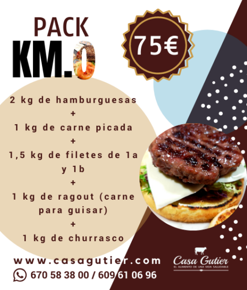 Pack especial km 0